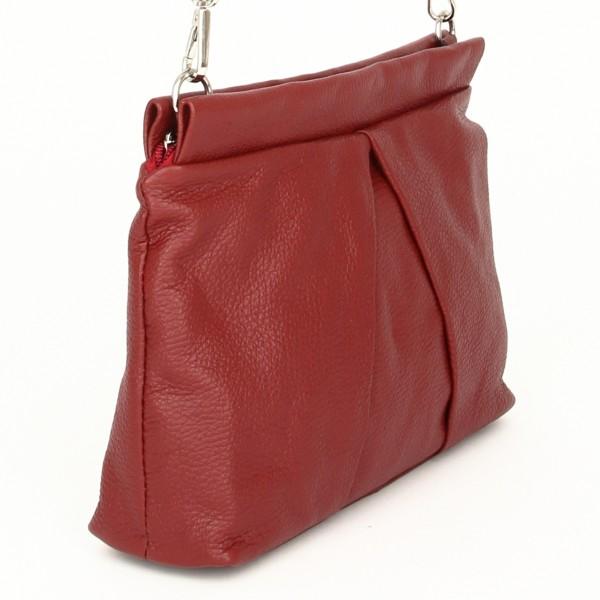 Luna Handtasche Leder rot