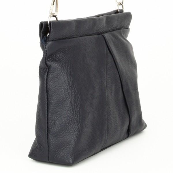 Luna Handtasche Leder blau